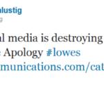 Tuesday Tweet: Apologies & Social Media